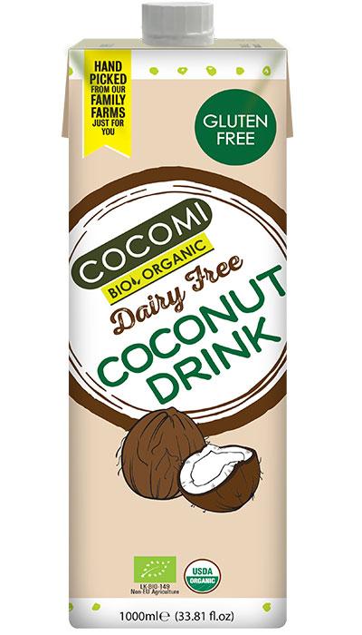 cocomi bio organic drinking coconut milk