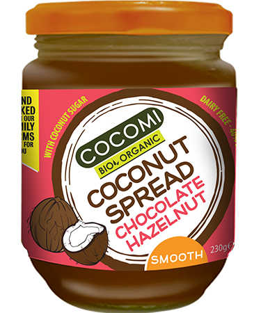 Coconut Spread Chocolate and Hazelnut