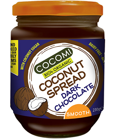 Coconut Spread dark chocolate