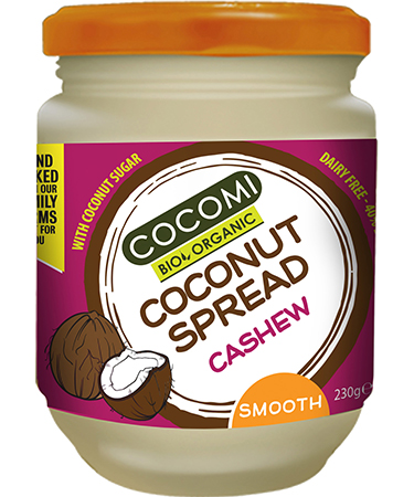 Coconut Spread white chocolate & cashew