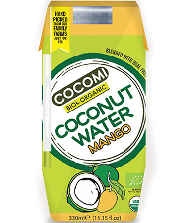 Coconut Water Mango 330ml